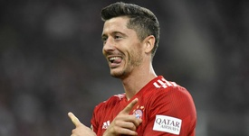 Robert Lewandowski Bayern 2018-19. Goal
