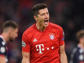 Lewandowski busca Champions inédita em sua melhor temporada no Bayern. EFE