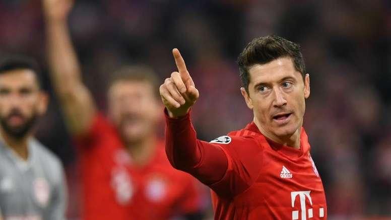 Lewandowski trova il problema. Goal