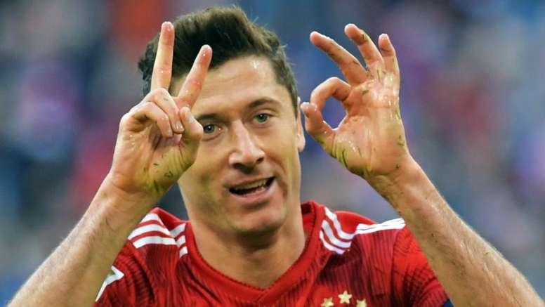 Lewandowski pisté par Manchester United et le PSG. AFP