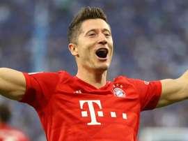 n feu, Lewandowski porte le Bayern. Goal