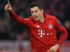 Le Bayern compose ton ticket. AFP