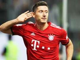 Muller lauded Lewandowski after his goal-filled display. GOAL