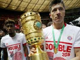 Lewandowski veut des renforts au Bayern. Goal
