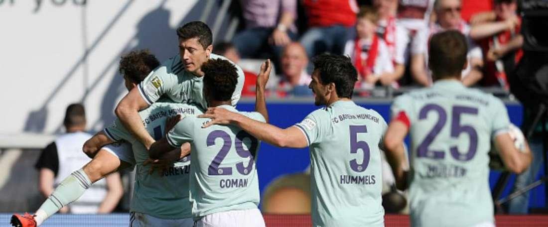 Mauvaise opération pour le Bayern. Goal