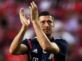 Robert Lewandowski has returned to training with Bayern Munich. GOAL
