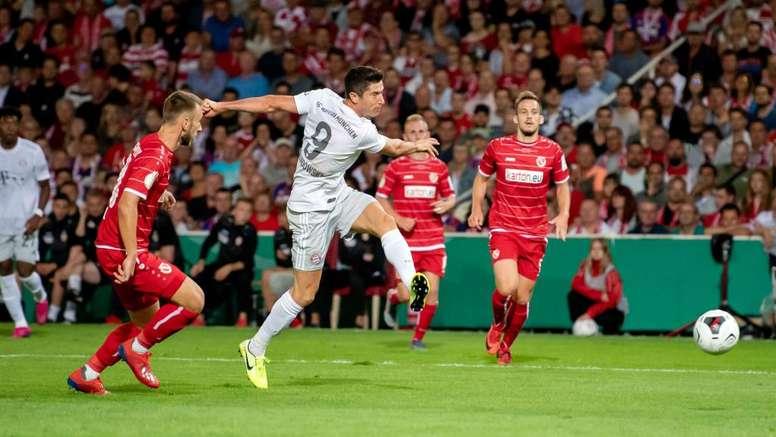 Lewandowski: Bayern 'not amazing'