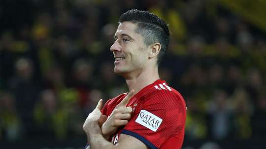 Robert Lewandowski joined Bayern Munich on a free transfer from Borussia Dortmund. GOAL