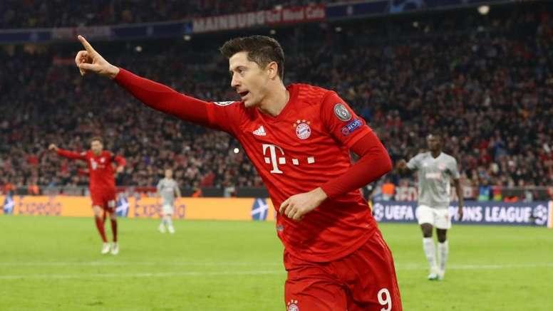 Bayern's Lewandowski targets Ronaldo's record - Champions League in Opta numbers
