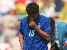 L'ex attaccante della Juve e degli Azzurri, Roberto Baggio a USA '94.