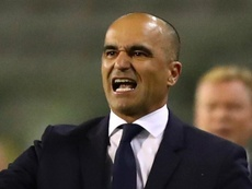 Roberto Martinez targets 'beautiful legacy' after signing new Belgium deal. AFP