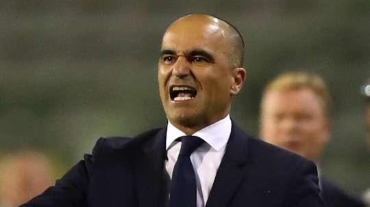 Roberto Martinez targets 'beautiful legacy' after signing new Belgium deal. AFP