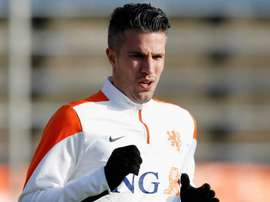 Van Persie will remain with Feyenoord for another season. GOAL