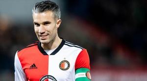 Robin Van Persie dans le staff du Feyenoord. goal
