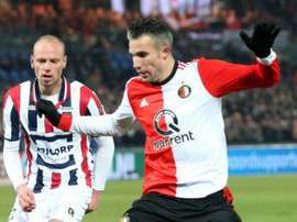 Robin van Persie scores 300th career goal