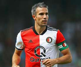 Van Persie pictured for Feyenord. GOAL