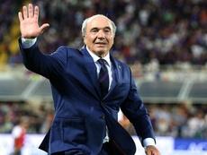 Il presidente della Fiorentina, l'americano Commisso.