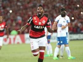 Rodinei Flamengo Universidad Catolica Libertadores 03052017