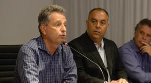 Rodolfo Landim diz que Flamengo deve implementar projeto que viu no Real Madrid. Goal