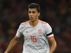 Spain coach says Rodri and Busquets can play together for Spain. GOAL