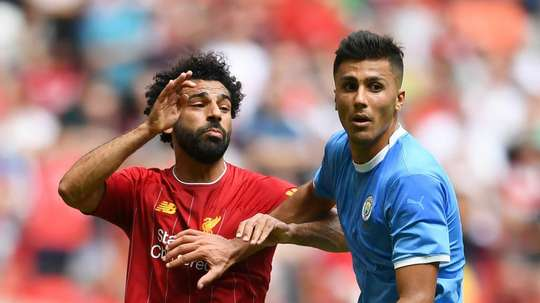 Rodri in awe of Klopp's Liverpool. GOAL