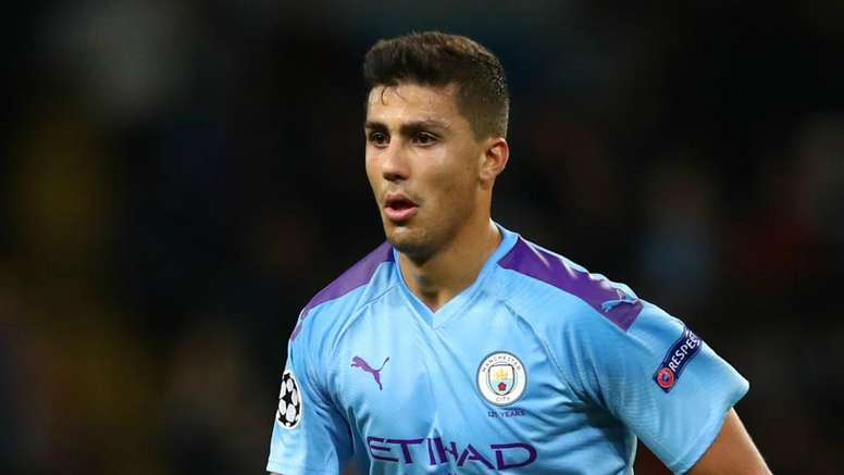 Rodri learning 'tactical fouls' at Manchester City. GOAL