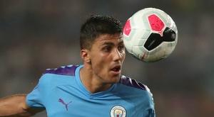 Guardiola praised Rodrigo's performance against Yokahama. GOAL