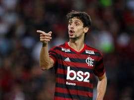 Rodrigo Caio avalia impacto do Flamengo sem torcida no Brasileirão 2020. Goal