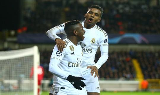 Rodrygo e Vinicius Jr. ganham moral no Real Madrid de Zidane. EFE