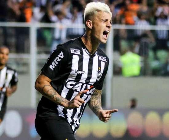 Róger Guedes rescinde com o Galo após Palmeiras encaminhar venda para o futebol chinês