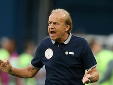 Rohr's Nigeria team will need to improve on their last outing. GOAL