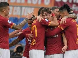 La Roma bat Naples et retrouve le podium. AFP