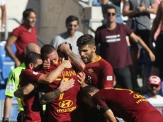 Roma beat their rivals. GOAL