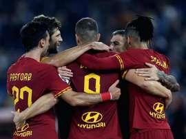 AS Roma-Milan 2-1, la Louve enfonce Milan. AFP