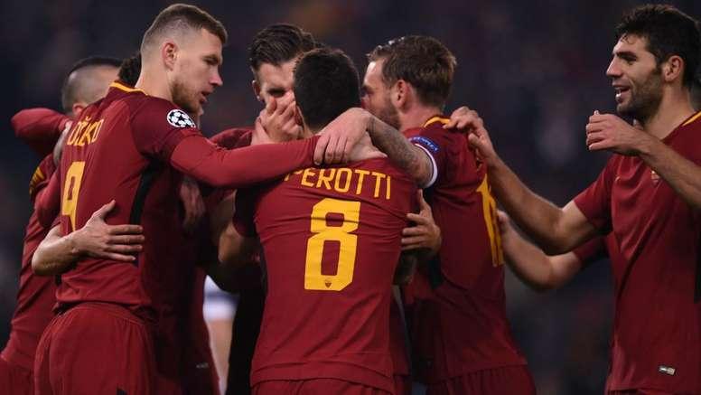 A Roma não vacilou, em casa, perante o Qarabag. Goal