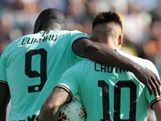 Lukaku and Martinez impress Conte. GOAL