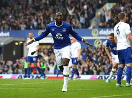 Romelu Lukaku, Everton - Leicester City. GOAL