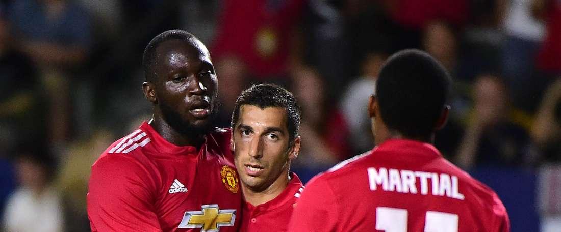 Lukaku ouvre son compteur buts avec Manchester United. Goal