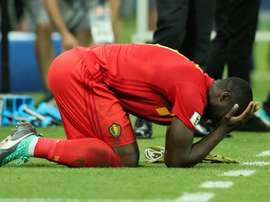 Lukaku has only just returned from injury. GOAL