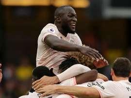 Lukaku will start against Fulham. GOAL