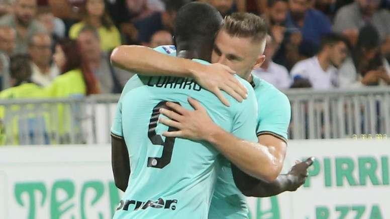 Cagliari's racist abuse of Lukaku has gone unpunished. GOAL