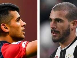 Juventus e Genoa al lavoro. Goal