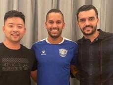 Rômulo, contratado pelo Ever Bright, da China, contou sua experiência com o coronavírus. Goal