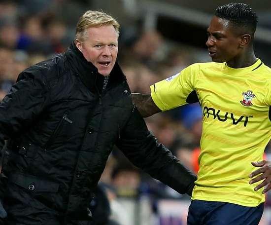 Elia played under Koeman at Southampton. GOAL