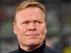Il tecnico dell'Olanda Koeman. Goal