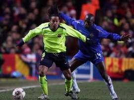 Makélélé avait menacé Ronaldinho. Goal