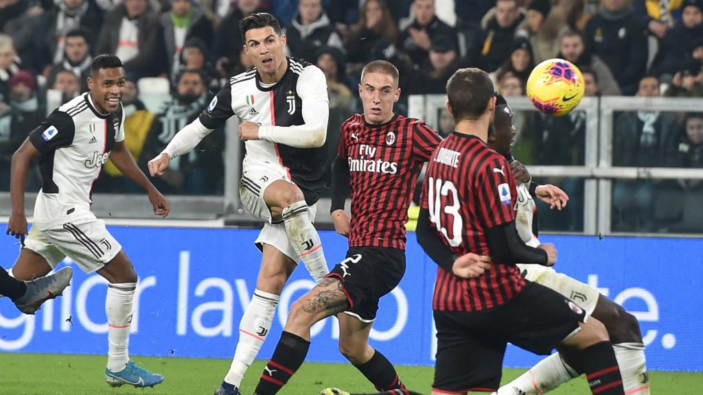 Juventus vs. AC Milan - Football Match Report