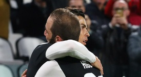 Ronaldo played alongside Dybala and Higuain, but Sarri says it will not happen often. GOAL