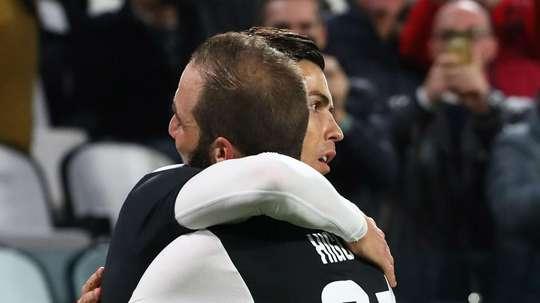 Ronaldo played alongside Dybala and Higuain, but Sarri says it will not happen often. GOAL