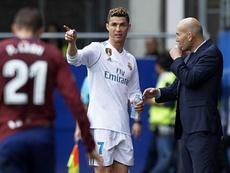 Ronaldo bagged twice against Eibar. GOAL